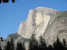 Half Dome from Mirror Lake, photo by Cindy Todd