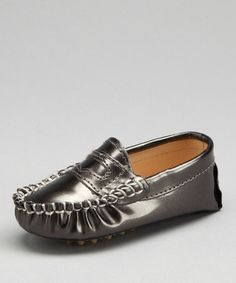 Take a look at this Trumpfit Pewter Moccasin by Dapper Dudes: Boys' Apparel on #zulily today!