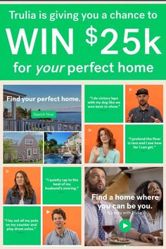 This is your chance to Win $25K for Your Perfect Home from Trulia #TruliHome #AD