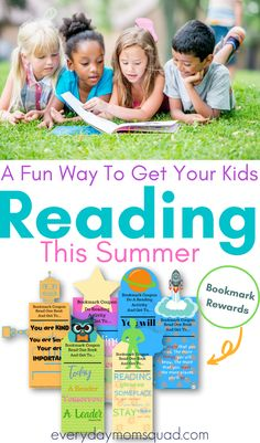 These are fun reading activities for kids. Bookmark rewards for kids, a fun way to keep kids motivated to read. #makingreadingfunforkids #readingforkids #readingactivityforkids #bookmarksforkids Educational Activities For Kids, Reading Activities, Learning Resources, Fun Learning, Preschool Activities, Teaching Kids, Bookmarks Kids, Kids Behavior, Learning Through Play