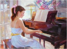 Volegov.com :: AT THE PAINTING, painting,