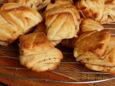 Töpörtyűs pogácsa, tepertős pogácsa Bread, Recipes, Food, Kuchen, Brot, Recipies, Essen, Baking, Meals
