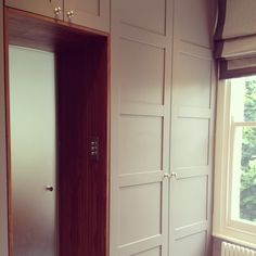 Bespoke wardrobe doors, accessible from both Master bedroom and Ensuite/Dressing room...