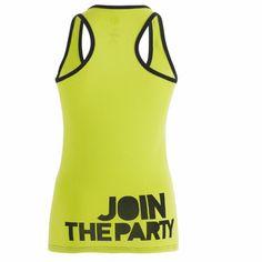 $35.00 Zumba Life of the Party Racerback FitnessFactoryZum... Zumba Fitness Shop | Buy Zumbawear Online | Shop Zumba Fitness Clothing, Zumba Wear and Zumba Fitness Apparel & DVDs