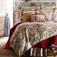 "Ralph Lauren ""Lakehouse"" bedding."