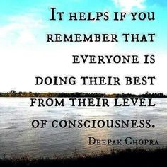Consciousness... helpful awareness