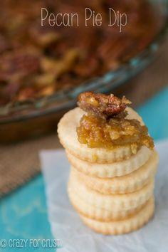 Pecan Pie Dip | crazyforcrust.com