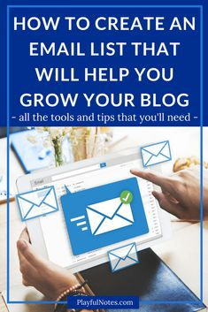 Email list building: Do you want to start building your email list or grow it in an easy and effective way? Here are all the tools and tips that you'll need. | How to grow an email list | Tips for building an email list | Blogging tips and tools #Blogging #EmailList #BloggingTips