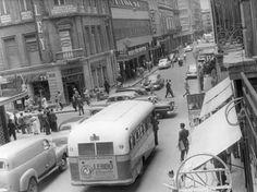 Cruce de Palma y Madero, Centro Histórico de la Ciudad de México Años 50s