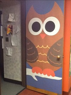 Cute idea for bringing my current owl obsession into my classroom!
