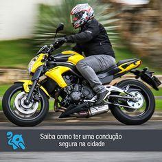 Confira ótimas dicas para ter total segurança e conforto ao pilotar sua moto:  http://www.consorcioparamotos.com.br/noticias/saiba-como-ter-uma-conducao-segura-na-cidade?utm_source=Pinterest&utm_medium=Perfil&utm_campaign=redessociais