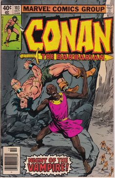 Conan the Barbarian 103 October 1979 Issue  Marvel by ViewObscura