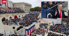 Wow - ridiculously detailed photo... Using gigapixel technology, CNN managed to capture an ultra-high res, interactive, 360° photograph of the presidential inauguration on Friday