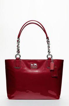 COACH CHELSEA PATENT LEATHER TOTE available at #Nordstrom