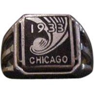 1933 Chicago Worlds Fair Ring