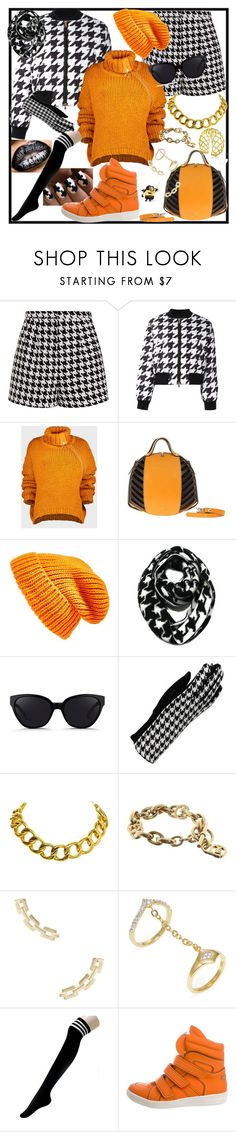 """""""292"""" by kuropirate on Polyvore featuring Emma Cook, Boutique Moschino, Marques'Almeida, Topshop, 3.1 Phillip Lim, Sylvia Alexander, Chanel, Michael Kors, Shashi and Noir Jewelry"""