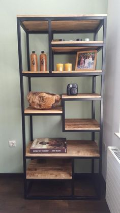 New ideas for metal furniture pipe shelves Loft Furniture, Trendy Furniture, Classic Furniture, Metal Furniture, Home Decor Furniture, Cheap Furniture, Rustic Furniture, Furniture Makeover, Furniture Design