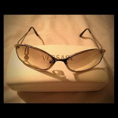 Rare Vintage Versace Sunglasses Please note one of the nose pads is missing, model number is N34/H Versace Accessories Sunglasses