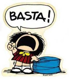 Mafalda - Sometimes i feel like this!