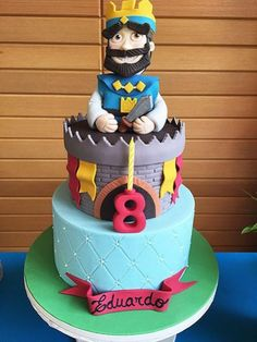 Clash Games provides latest Information and updates about clash of clans, coc updates, clash of phoenix, clash royale and many of your favorite Games Beautiful Birthday Cakes, Beautiful Cakes, Torta Clash Royale, Clash Royale Drawings, 10th Birthday, Birthday Parties, Royal Cakes, Chocolate, Goody Bags