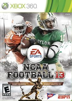 NCAA Football 13 for the Xbox and PS3. Available at MyHotElectronics.com for $41.99 -  http://myhotelectronics.com/25-11846801-B006VB2UO6-NCAA_Football_13.html
