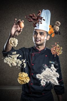 restaurant chef creative portrait - Google Search