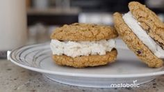 Oatmeal Cream Pies 2.0 Remember oatmeal cream pies from when you were a kid? Well here's the adult version!