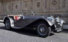 Jaguar SS100, 2.5 litre. Sseriously nice!