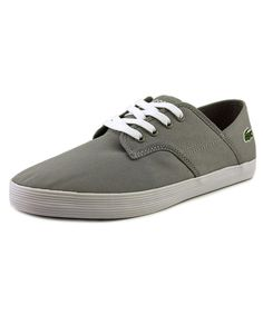 LACOSTE Lacoste Andover Men  Round Toe Canvas Gray Walking Shoe'. #lacoste #shoes #sneakers