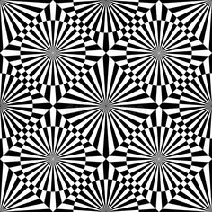 Illustration about Abstract vector seamless op art pattern. Monochrome graphic black and white ornament. Illustration of graphic, element, line - 84479002