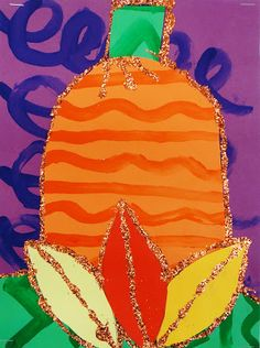 For the Love of Art: 2nd Grade: Matisse Pattern Pumpkin