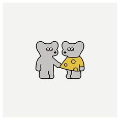 by Seiji Matsumoto Maus Illustration, Simple Illustration, Character Illustration, Graphic Design Illustration, Bear Character, Character Design, Hamsters, China Art, Doodles