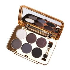Professional 6 Colours Pearl Matte Eyeshadow Palette with Mirror and Brush #men, #hats, #watches, #belts, #fashion