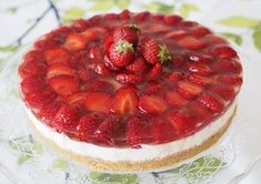 Takana, Cheesecake, Strawberry, Fruit, Desserts, Food, Tailgate Desserts, Deserts, Cheesecakes
