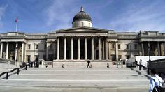 National Gallery exterior, summer � British Tourist Authority