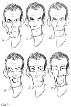 faces....