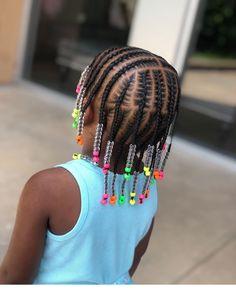Black Baby Girl Hairstyles, Little Girls Natural Hairstyles, Little Girl Braid Hairstyles, Toddler Braided Hairstyles, My Hairstyle, Black Children Hairstyles, Little Girl Braid Styles, Kid Braid Styles, Little Girl Braids