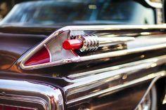 Photographic Print: Tail Light of a 1958 Mercury Park Lane Sedan by George Oze : Metal Walls, Metal Wall Art, Canvas Frame, Canvas Wall Art, Palm Tree Silhouette, Acrylic Wall Art, Tail Light, Canvas Art Prints, Mercury