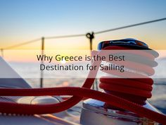 Why Greece is the Best Destination for Sailing 😀 Greece is the ideal destination for sailing holidays. With its mild weather and calm seas, it's the country you can trust for a stress-free sailing trip.  #sailing #Greece #babasails #yachts #sailingtrips #cruises #halkidiki #thessaloniki #aegean #travel