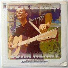"Pete Seeger - ""John Henry"" and Other Folk Favorites  LP Vinyl Record Album, Harmony - HS11337, Folk, 1969, Original Pressing"