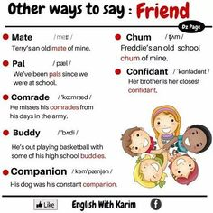 Photo: Other ways to say : Friend!
