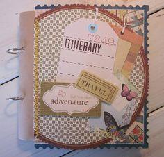 Travel Journal Smash Book by BagLadyLulu