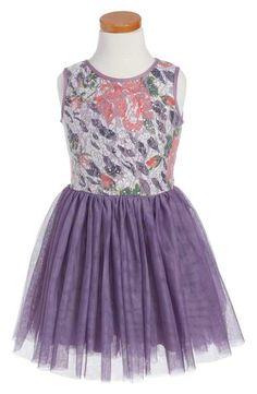Pippa & Julie Sleeveless Tulle Dress (Toddler Girls, Little Girls & Big Girls)