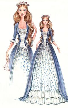 Barbie as the Princess and the Pauper- Erika