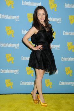 Emilia Clarke in 2012.                                                                                                                                                                                 Mais