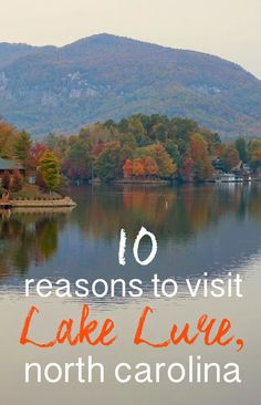 10 Reasons to Visit Lake Lure, North Carolina, that don't have to do with Dirty Dancing: via Lake Lure North Carolina, Visit North Carolina, Asheville North Carolina, Western North Carolina, North Carolina Mountains, North Carolina Homes, Asheville Nc, Charlotte North Carolina, South Carolina
