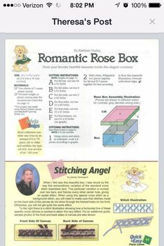 Romantic Rose Box 3/3