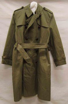 Legerjas, ca. 1959-1961, Gemeentemuseum Den Haag. #modemuze #gemeentemuseum #trenchcoat