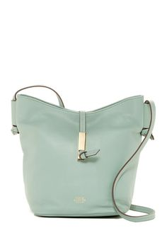 Image of Vince Camuto Reed Leather Bucket Crossbody