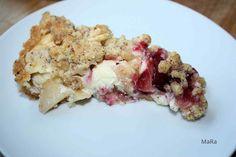 Pflaumen-Quark-Mandel-Tarte - Mandel-Mürbeteig, Quarkcreme mit Pflaumen und Apfel und Nuss-Streusel :) - http://www.kochtopf.me/gastbeitrag-mara-pflaumen-quark-mandel-tarte